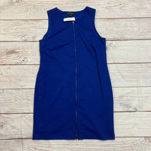 Primary Photo - BRAND: BANANA REPUBLIC STYLE: DRESS SHORT SLEEVELE COLOR: BLUE SIZE: 10 OTHER INFO: ZIPPER ON FRONT SKU: 257-257100-355