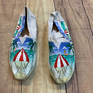Primary Photo - BRAND: TOMS STYLE: SHOES FLATS COLOR: WHITE SIZE: 7.5 OTHER INFO: BEACH SKU: 217-217182-2458