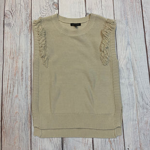 Primary Photo - BRAND: BANANA REPUBLIC STYLE: TOP SLEEVELESS COLOR: BEIGE SIZE: M OTHER INFO: NEW! SWEATER VEST SKU: 217-217182-4318