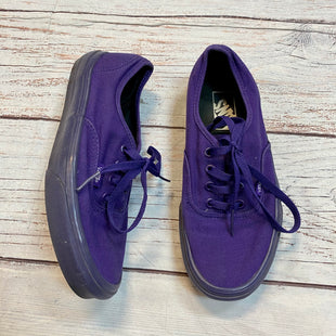 Primary Photo - BRAND: VANS STYLE: SHOES ATHLETIC COLOR: PURPLE SIZE: 7 SKU: 217-217153-7891