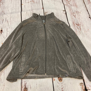 Primary Photo - BRAND:    GLITTERSCAPESTYLE: ATHLETIC JACKET COLOR: GREY SIZE: 3X OTHER INFO: GLITTERSCAPE - GEMS SKU: 217-217104-39215