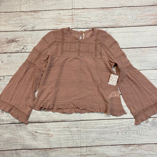 Primary Photo - BRAND: FREE PEOPLE STYLE: TOP LONG SLEEVE COLOR: MAUVE SIZE: S OTHER INFO: LACE DETAIL SKU: 178-178199-2866