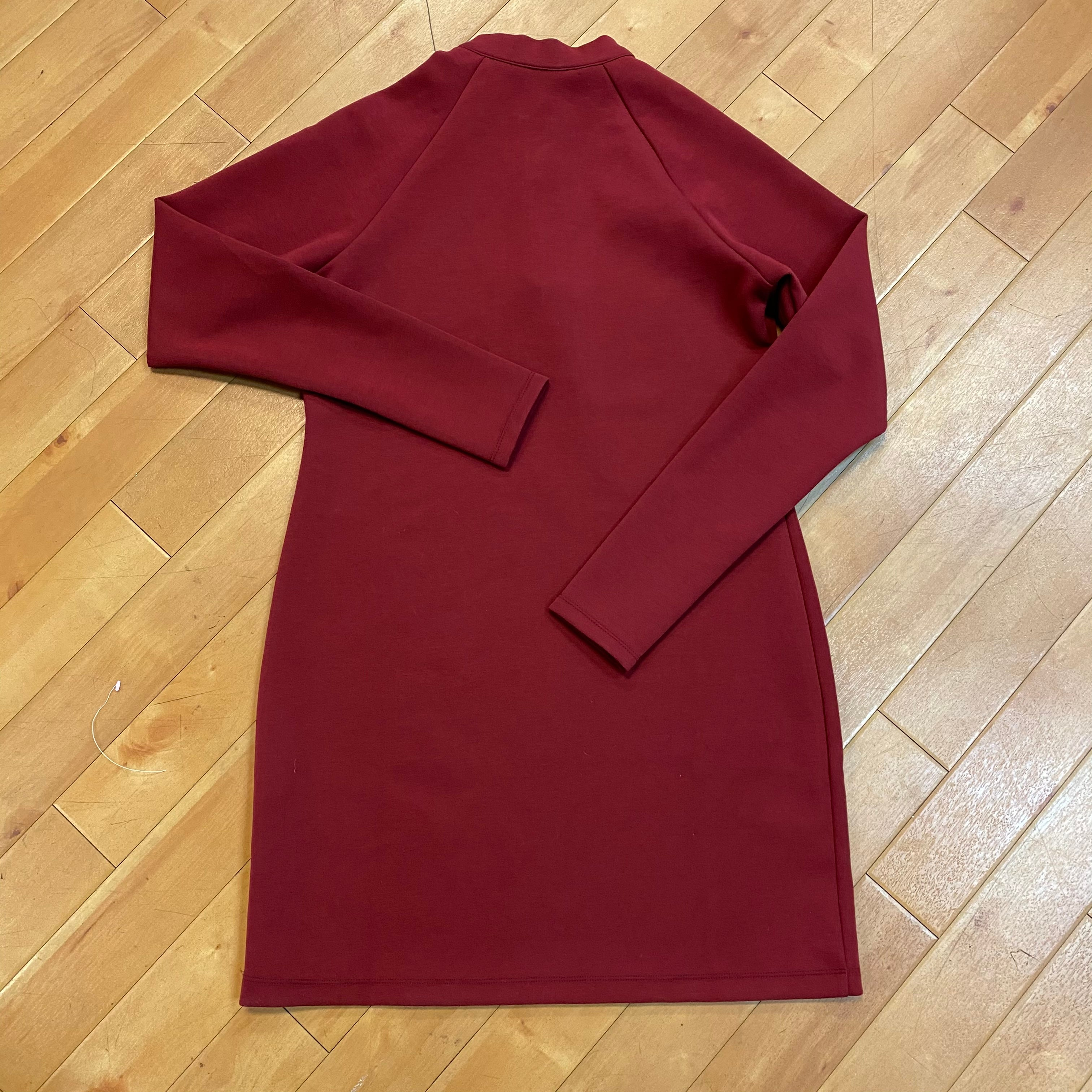Photo #2 - BRAND: NIKE <BR>STYLE: DRESS SHORT LONG SLEEVE <BR>COLOR: RED <BR>SIZE: L <BR>OTHER INFO: NEW! $75.00 <BR>SKU: 217-217182-2947