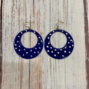 Primary Photo - BRAND:   CMC STYLE: EARRINGS COLOR: NAVY OTHER INFO: WHITE POLKA DOT SKU: 217-217144-10058