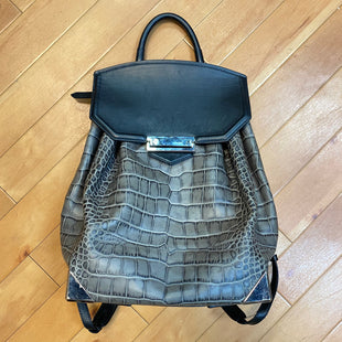 Primary Photo - BRAND: ALEXANDER WANG STYLE: BACKPACK COLOR: GREY SIZE: MEDIUM SKU: 217-217153-6765