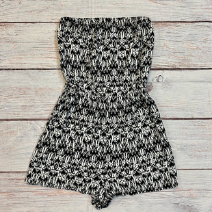 Primary Photo - BRAND: DIVIDED STYLE: DRESS SHORT SLEEVELESS COLOR: BLACK WHITE SIZE: 6 OTHER INFO: ROMPER SKU: 217-217167-1587