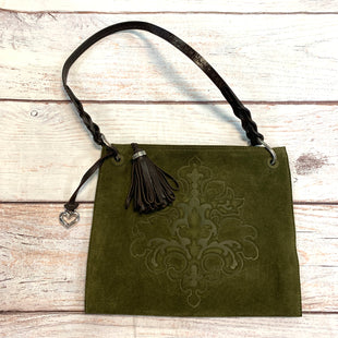 Primary Photo - BRAND: BRIGHTON STYLE: HANDBAG DESIGNER COLOR: GREEN SIZE: MEDIUM OTHER INFO: LEATHER STRAP SKU: 217-217193-395