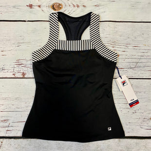 Primary Photo - BRAND: FILA STYLE: ATHLETIC TANK TOP COLOR: BLACK WHITE SIZE: XS OTHER INFO: NWT SKU: 217-217196-627