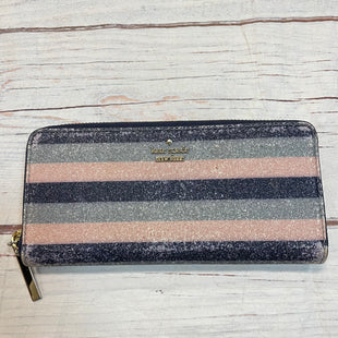 Primary Photo - BRAND: KATE SPADE STYLE: WALLET COLOR: MULTI SIZE: MEDIUM OTHER INFO: NAVY PINK GREY/ AS IS SKU: 217-217153-8697