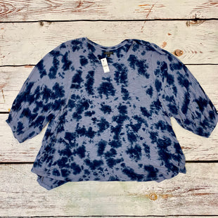 Primary Photo - BRAND: LANE BRYANT STYLE: TOP SHORT SLEEVE COLOR: BLUE SIZE: 26 OTHER INFO: NWT SKU: 217-217196-583
