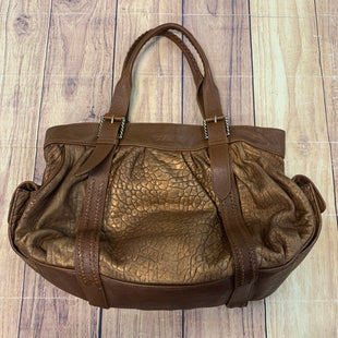 Primary Photo - BRAND: COLE-HAAN STYLE: HANDBAG DESIGNER COLOR: BRONZE SIZE: LARGE OTHER INFO: W/BROWN SKU: 257-257180-1960
