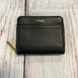 Primary Photo - BRAND: FOSSIL STYLE: WALLET COLOR: BLACK SIZE: SMALL OTHER INFO: SQUARE/ FLAP + ZIP SKU: 217-217104-38724