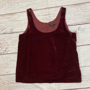Primary Photo - BRAND: J CREW STYLE: TOP SLEEVELESS COLOR: VELVET SIZE: XS OTHER INFO: NEW! SKU: 217-217182-8434