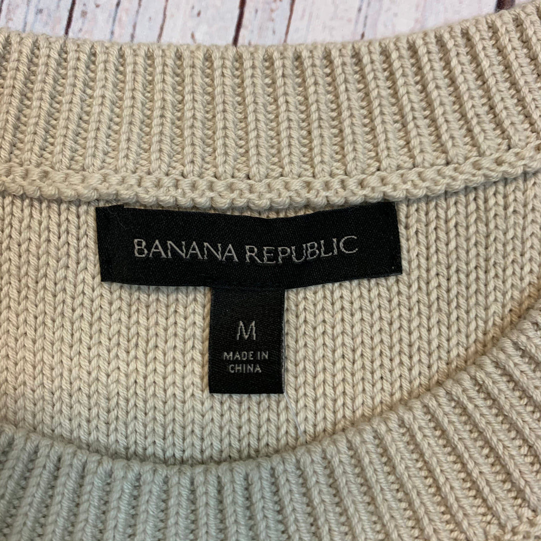 Photo #1 - BRAND: BANANA REPUBLIC <BR>STYLE: TOP SLEEVELESS <BR>COLOR: BEIGE <BR>SIZE: M <BR>OTHER INFO: NEW! SWEATER VEST <BR>SKU: 217-217182-4318