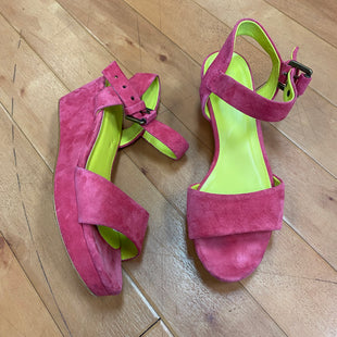Photo #1 - BRAND: BODEN STYLE: SANDALS HIGH COLOR: PINK SKU: 217-217154-2338