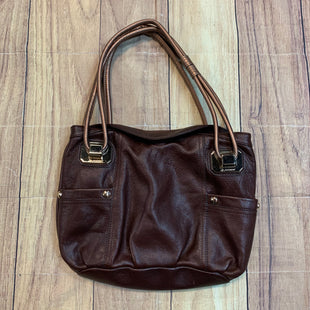 Primary Photo - BRAND: B MAKOWSKY STYLE: HANDBAG DESIGNER COLOR: BROWN SIZE: MEDIUM SKU: 257-25774-14064