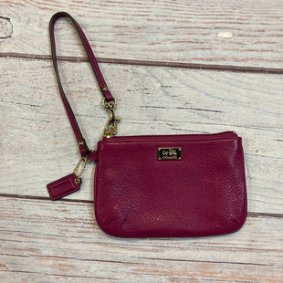 Primary Photo - BRAND: COACH STYLE: WRISTLET COLOR: FUSCHIA SKU: 217-217104-37406