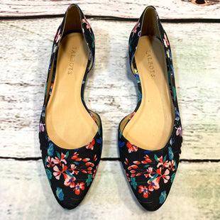 Photo #1 - BRAND: TALBOTS STYLE: SHOES FLATS COLOR: FLORAL SIZE: 8.5 OTHER INFO: BLACK/BLUE/RED/PINK/ SKU: 257-25786-4312