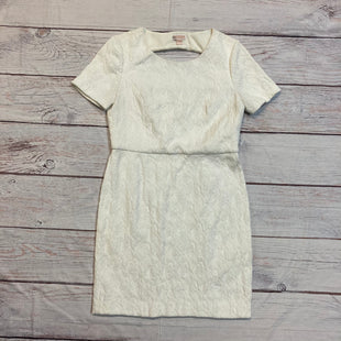 Primary Photo - BRAND: CHELSEA28STYLE: DRESS SHORT SHORT SLEEVE COLOR: WHITE SIZE: 10 OTHER INFO: KEYHOLE SKU: 257-257100-344