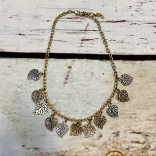 Primary Photo - BRAND: LUCKY BRAND STYLE: NECKLACE COLOR: GOLD SILVER OTHER INFO: LEAVES SKU: 217-217193-770