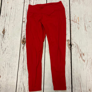 Primary Photo - BRAND: VICTORIAS SECRET STYLE: ATHLETIC PANTS COLOR: RED SIZE: L SKU: 217-217182-9510
