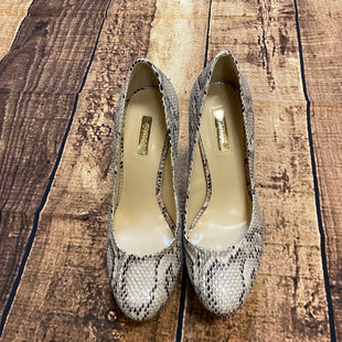 Primary Photo - BRAND: GUESS STYLE: SHOES HIGH HEEL COLOR: SNAKESKIN PRINT SIZE: 7 SKU: 217-217182-3942