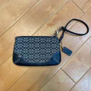 Primary Photo - BRAND: COACH STYLE: WRISTLET COLOR: BLACK SKU: 217-217182-3108