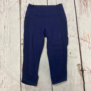 Primary Photo - BRAND: LULULEMON STYLE: ATHLETIC CAPRIS COLOR: BLUE SIZE: M SKU: 217-217182-9894