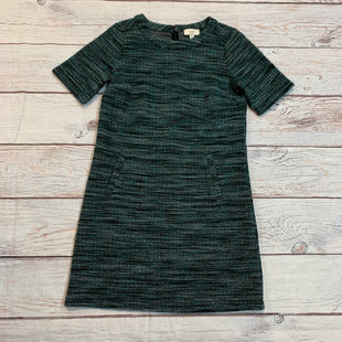 Primary Photo - BRAND: LOFT STYLE: DRESS SHORT SHORT SLEEVE COLOR: GREEN SIZE: XS OTHER INFO: BLACK & WHITE SKU: 217-217155-4448
