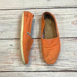 Primary Photo - BRAND: TOMS STYLE: SHOES FLATS COLOR: ORANGE SIZE: 6 OTHER INFO: AS IS SKU: 217-21780-13215