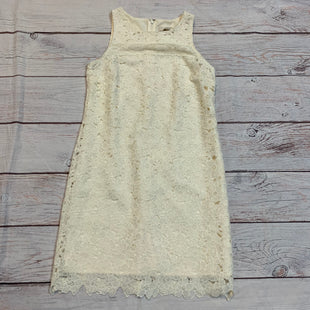Primary Photo - BRAND: ANN TAYLOR LOFT STYLE: DRESS SHORT SLEEVELESS COLOR: CREAM SIZE: S SKU: 217-217155-3755