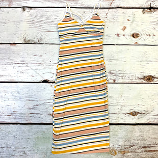 Primary Photo - BRAND:   CMC STYLE: DRESS SHORT SLEEVELESS COLOR: STRIPED SIZE: S OTHER INFO: ARDENE - NEW! YELLOW BLUE WHITE SKU: 217-217193-799