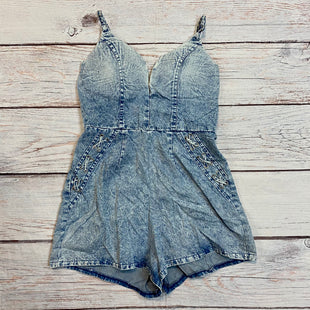Primary Photo - BRAND: ANGEL BIBASTYLE: DRESS SHORT SLEEVELESS COLOR: DENIM SIZE: 8 OTHER INFO: ROMPERSKU: 217-217167-1359