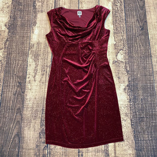 Primary Photo - BRAND: ANNE KLEIN STYLE: DRESS SHORT SLEEVELESS COLOR: RED SIZE: M OTHER INFO: NEW! 10 SKU: 217-217104-30871