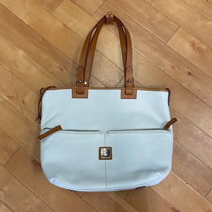 Primary Photo - BRAND: DOONEY AND BOURKE STYLE: HANDBAG DESIGNER COLOR: WHITE SIZE: LARGE SKU: 217-217152-5742