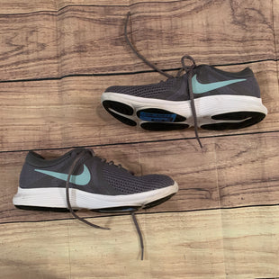 Primary Photo - BRAND: NIKE STYLE: SHOES ATHLETIC COLOR: GREY SIZE: 8.5 OTHER INFO: BLUE SKU: 217-217104-34647