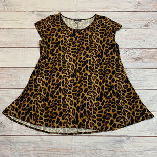 Primary Photo - BRAND:    FRENCH ATMOSPHERE STYLE: DRESS SHORT SHORT SLEEVE COLOR: ANIMAL PRINT SIZE: 3X OTHER INFO: FRENCH ATMOSPHERE - SKU: 217-217182-7730