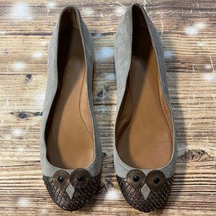 Primary Photo - BRAND: LANDS END STYLE: SHOES FLATS COLOR: GREY SIZE: 8.5 OTHER INFO: OWL TOE SKU: 217-217104-35489