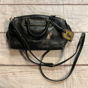 Primary Photo - BRAND: DOONEY AND BOURKE STYLE: HANDBAG DESIGNER COLOR: BLACK SIZE: SMALL OTHER INFO: GOLD  TAG SKU: 217-217104-38703
