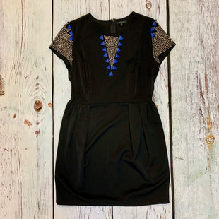 Primary Photo - BRAND: QUINN STYLE: DRESS SHORT SHORT SLEEVE COLOR: BLACK SIZE: M SKU: 217-217153-8649