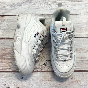 Primary Photo - BRAND: FILA STYLE: SHOES ATHLETIC COLOR: WHITE SIZE: 9.5 OTHER INFO: AS IS DISRUPTOR II SKU: 217-217104-39840