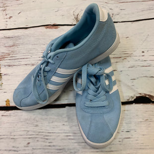 Primary Photo - BRAND: ADIDAS STYLE: SHOES ATHLETIC COLOR: BABY BLUE SIZE: 9.5 SKU: 217-217182-7991