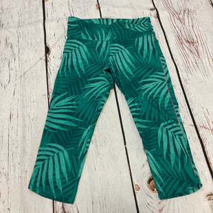 Primary Photo - BRAND: OLD NAVY STYLE: ATHLETIC CAPRIS COLOR: GREEN SIZE: L OTHER INFO: LEAF PRINT SKU: 217-217104-39876