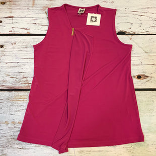 Primary Photo - BRAND: ANNE KLEIN STYLE: TOP SLEEVELESS COLOR: FUSCHIA SIZE: S OTHER INFO: NEW! SKU: 217-217153-7221