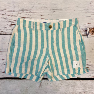 Primary Photo - BRAND: OLD NAVY STYLE: SHORTS COLOR: BLUE WHITE SIZE: 0 OTHER INFO: NEW! STRIPE 5 EVERYDAY SHORT SKU: 217-217104-39708