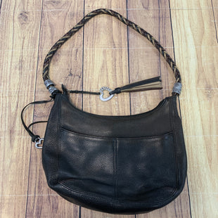 Primary Photo - BRAND: BRIGHTON STYLE: HANDBAG LEATHER COLOR: BLACK SIZE: MEDIUM OTHER INFO: SLIGHT STAINING/DISC SKU: 178-17883-13587