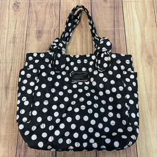 Primary Photo - BRAND: MARC BY MARC JACOBS STYLE: TOTE COLOR: POLKADOT SIZE: MEDIUM OTHER INFO: BLACK/WHITE SKU: 257-257176-461