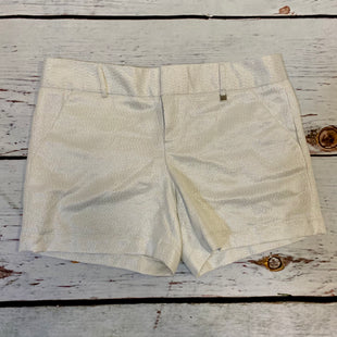 Primary Photo - BRAND: CALVIN KLEIN STYLE: SHORTS COLOR: WHITE SIZE: 8 OTHER INFO: NEW! SILVER SKU: 217-217104-37641