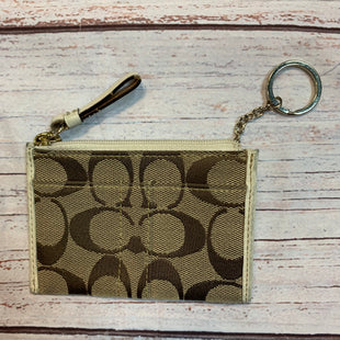 Primary Photo - BRAND: COACH STYLE: COIN PURSE COLOR: MONOGRAM SIZE: SMALL OTHER INFO: AS IS SKU: 217-217153-7310