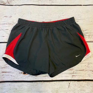 Primary Photo - BRAND: NIKE STYLE: ATHLETIC SHORTS COLOR: RED BLACK SIZE: M OTHER INFO: WHITE SKU: 217-217104-38633